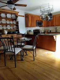 kitchen cabinets and wood floors what flooring is best for this kitchen designed