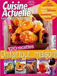 cuisine actuelle hors série cooking trends special edition tom press
