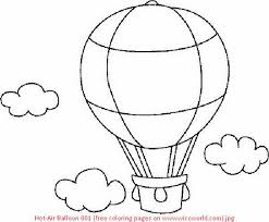 air balloon coloring page for s murderthestout