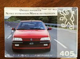 1994 peugeot 405 mi16 classic owners manual content retro rides