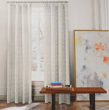White Grey Curtains Hilfiger Lake Pair Of Curtains 2 Window