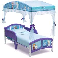 Canopy Bedroom Sets For Girls Amazon Com Delta Children Canopy Toddler Bed Disney Frozen Baby