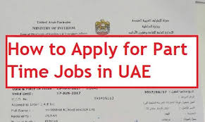 Ministry Of Interior Jobs How To Apply For Part Time Jobs In Uae Uae Expatriates