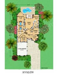 Narrow House Plans Avalon Narrow House Plans Luxury House Plans
