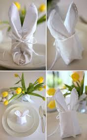 easter napkins how to make an easter bunny napkin