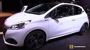 peugeot 5 series 2017 peugeot 208 gt line 1 6 diesel exterior and interior