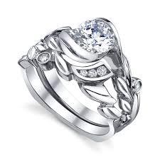 fusion wedding band fusion engagement ring and wedding band mccaskill and company
