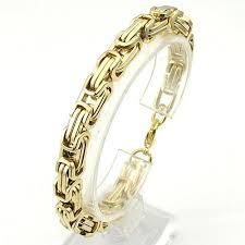 bracelet gold man stainless steel images Men 39 s bracelets gold chain link bracelet gold chain buycoolprice jpg
