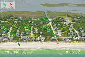 Nc Coast Map Spindrift Bluewater Nc Emerald Isle And Atlantic Beach