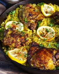 one pot middle eastern chicken and rice ev u0027s eats
