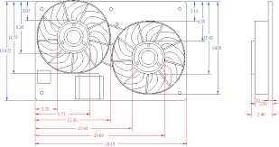 1968 mustang dimensions need help on picking an electric fan page 2 vintage mustang