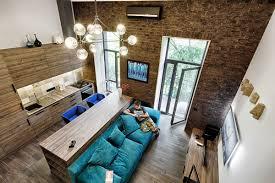 bedroom mezzanine design cool modern industrial warehouse loft