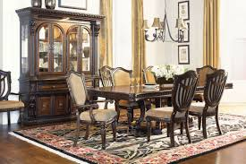 cabernet double pedestal dining table