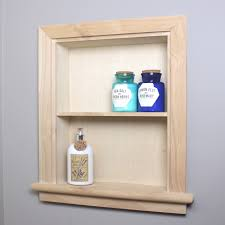 where to buy unfinished wall cabinets 14x18 unfinished recessed aiden wall niche w plain back by fox hollow furnishings