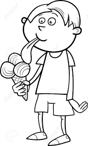 ice cream clipart eating ice cream clipart black and white clipartxtras