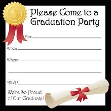 Dinner Invitation Cards Free Printable Graduation Party Invitations Hubpages