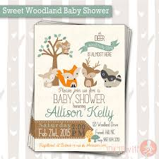woodland baby shower invitations sweet woodland baby shower invitation baby boy woodland