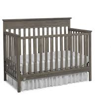 Convertible Cribs Reviews Fisher Price Newbury 4 In 1 Convertible Crib Vintage Gray