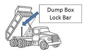 dump truck and trailer safety extension