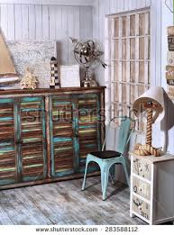 Shabby Chic Corner Desk Shabby Chic Interior Stock Images Royalty Free Images U0026 Vectors