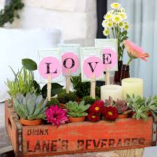 s day floral arrangements vintage soda crate floral arrangement for s day hometalk