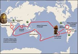 Egypt On World Map Frontiers Of Anthropology Longears From Ceylon To Easter Island