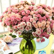 silk flower bouquets wedding flower decortion large artificial flowers