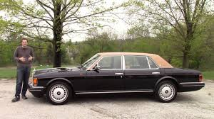 rolls royce here u0027s what a 300 000 rolls royce was like in 1996 youtube