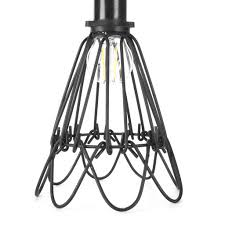 wire guards for light fixtures urban industrial wire cage retro l guard for pendant 12vmonster