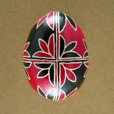 pysanky dye pysanky ukrainian easter egg tulip opposites decorated
