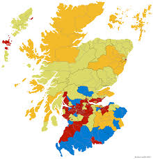 Uk Election Map by Uk General Election 2015 2007 Scottish Parliamentary Election