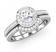 bridal ring company gorgeous three diamond ring or bridal set with