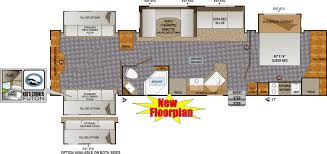 Luxury Rv Floor Plans by Two Bedroom Rv With Floor Plans Interalle Com