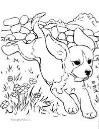 Dog Color Pages Printable Free Printable Puppy Coloring Pictures Dogs Color Pages