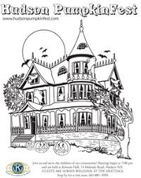 haunted house coloring pages bing images halloween coloring
