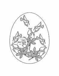 beautiful easter egg coloring page for kids coloring pages