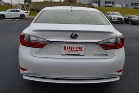 lexus new 2018 new 2018 lexus es es 300h 4dr car in macon l18045 butler auto group