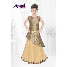 stylish dress kids girl stylish indo western dress child indo western angel
