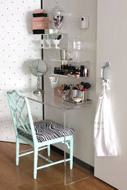 small bedroom table saving very small bedroom spaces with corner clear acrylic console