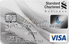 Visa Business Card Standard Chartered Business Visa Platinum Higher Credit Limit