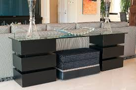 modern console table with drawers incredible contemporary console tables decorating ideas gallery in