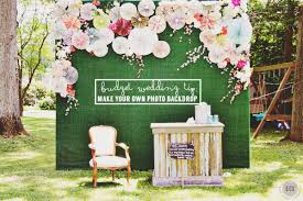 wedding backdrop green diy photo booth backdrop east coast creative