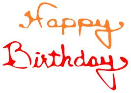 happy birthday gray writing