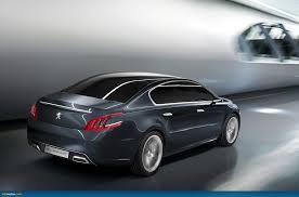 peugeot concept cars ausmotive com the u201c5 by peugeot u201d concept car u2013 508 preview