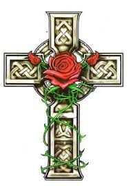 roses cross on back photo 2 photo pictures and