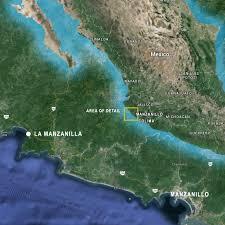 Manzanillo Mexico Map by Getting Here Casa Carmen