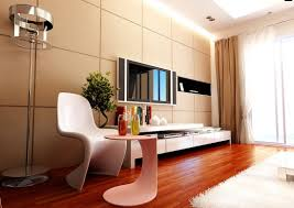 living room awesome white dark brown wood glass cool design
