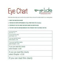 Legal Blindness Diopter 50 Printable Eye Test Charts Printable Templates