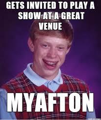 Artist Meme - if you are a local band artist meme on imgur