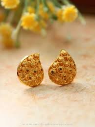 gold earring studs simple gold ear stud ear studs gold and